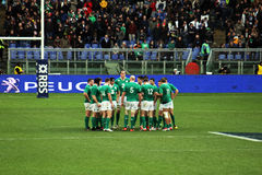 Irland rugby Arkivfoton