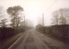 Irland-Straße Lizenzfreies Stockfoto
