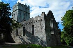 Irlanda, Co Kerry, abadía de Muckross, Killarney Imágenes de archivo libres de regalías