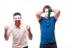 Irlanda do Norte perde, vitória do Polônia Imagem de Stock Royalty Free