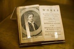 irlanda dublín Jonathan Swift Imagen de archivo