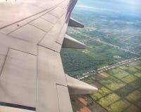 Irlandczyków poly widok od above Zdjęcia Stock