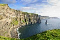 irlandczyka krajobrazowej natury sceniczny seascape zmierzch Obrazy Royalty Free