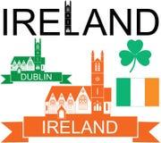 Irlandia royalty ilustracja