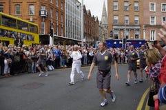 Irlandia dublin Czerwiec 06 2012 Obraz Royalty Free