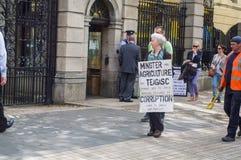Irlandia dublin Czerwiec 6, 2012 fotografia royalty free