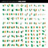 Irlandia flaga, wektorowa ilustracja Zdjęcia Royalty Free