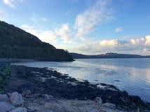 Irlandia jeziora i wieś Zdjęcia Royalty Free