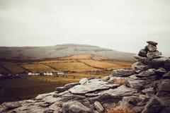 Irlandia kamienie Zdjęcia Royalty Free