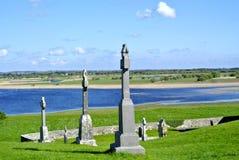 Irlandia krzyża skała Obraz Stock