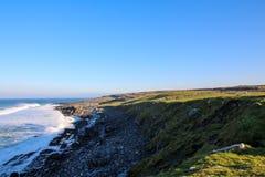 Irlandia - od Dublin Dziki Atlantycki spos?b zdjęcie stock