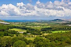 irlandia północna krajobrazu Obraz Royalty Free