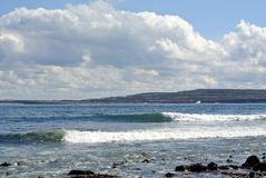 Irlandia plaży Arran wyspa Obraz Royalty Free