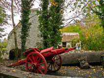 Irlandia rolny irlandzki tradycyjny Zdjęcia Royalty Free