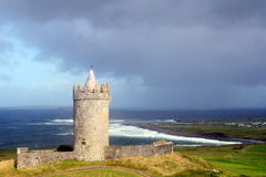 Irlands Schloss Stockfotografie