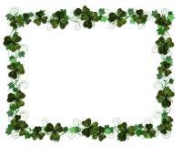 irlandzcy bluszczy shamrocks zniżkę Zdjęcia Royalty Free