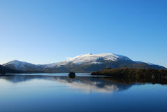 Irlandzka góra Zdjęcie Stock