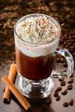 Irlandzka kawa Zdjęcie Royalty Free