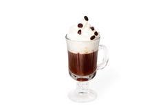 Irlandzka kawa Zdjęcia Royalty Free