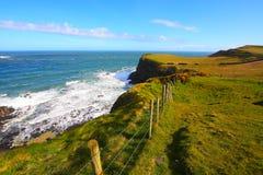 Irlandzka linia brzegowa Zdjęcie Royalty Free
