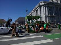 Irlandzki duma pławik w Sanfrancisco zdjęcia stock