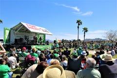 Irlandzki fontanny Fest 2019, fontann wzgórza, Arizona w Stany Zjednoczone zdjęcia royalty free