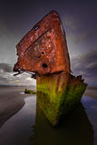 Irlandzki handlowa shipwreck Obrazy Royalty Free
