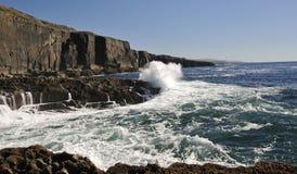 irlandzkie skały Zdjęcia Royalty Free