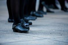 Irlandzkie tancerz nogi Fotografia Stock