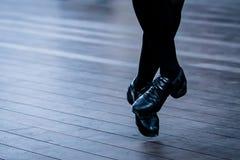 Irlandzkie tancerz nogi zdjęcie royalty free