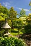 Irlandzkiej Krajowej stadniny Japońscy ogródy.  Kildare. Irlandia fotografia stock
