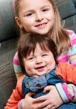 Irmã e irmão Imagem de Stock Royalty Free