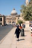 Irmã Vatican Rome Italy fotografia de stock