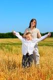 Irmão e irmã Imagens de Stock Royalty Free