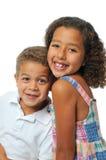 Irmão e irmã Imagem de Stock