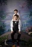 Irmão e irmã chineses Imagens de Stock Royalty Free