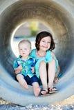 Irmão And Sister Love Imagem de Stock