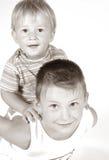 Irmãos Fotos de Stock