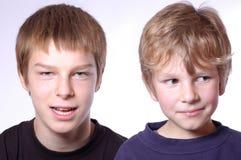 Irmãos Fotografia de Stock Royalty Free