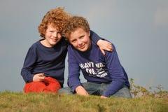 Irmãos Imagem de Stock