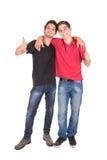Irmãos adolescentes Imagens de Stock
