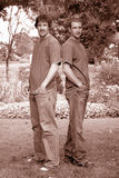 Irmãos consideráveis Foto de Stock