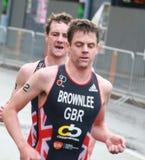 Irmãos de Brownlee, correndo Fotografia de Stock
