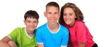 Irmãos de sorriso Imagens de Stock Royalty Free