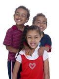 Irmãos e irmã Fotos de Stock Royalty Free