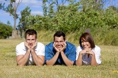 Irmãos no verão Imagem de Stock