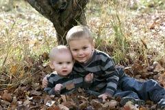 Irmãos pequenos Imagem de Stock