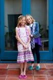 Irmãs Fotos de Stock Royalty Free