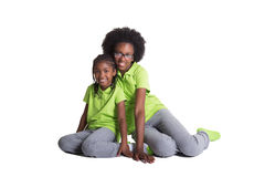 2 irmãs Imagens de Stock