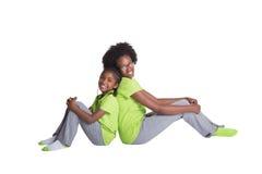 2 irmãs Imagem de Stock